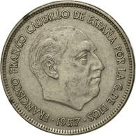 Monnaie, Espagne, Caudillo And Regent, 25 Pesetas, 1975, TTB, Copper-nickel - [ 5] 1949-… : Royaume