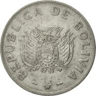 Monnaie, Bolivie, Boliviano, 1991, TTB, Stainless Steel, KM:205 - Bolivia