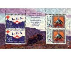 Ref. 97020 * MNH * - GREENLAND. 1993. 70th ANNIVERSARY OF RED CROSS AND 50th OF SCOUTS IN GREENLAND . 70 ANIVERSARIO DE - Greenland