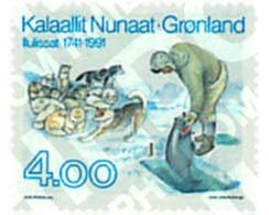 Ref. 97010 * MNH * - GREENLAND. 1991. 250th ANNIVERSARY OF JAKOBSHAVN . 250 ANIVERSARIO DE JAKOBSHAVN - Fishes