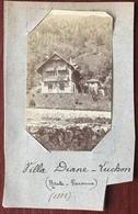 Villa Diane à Luchon. 1885. - Photos