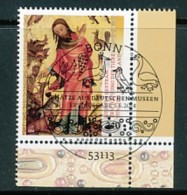 GERMANY Mi.Nr. 3085 Schätze Aus Deutschen Museen- ESST Bonn- Eckrand Unten Rechts - Used - BRD