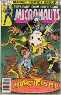 The Micronauts Vol. 1 No. 5 May 1979 Prometheus Pit! - Marvel