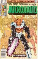 The Micronauts Vol. 1 No. 12 December 1979 Blood Feud! - Marvel
