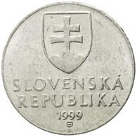 Monnaie, Slovaquie, 20 Halierov, 1999, TTB, Aluminium, KM:18 - Slovaquie