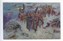 CPA Art Yougoslave Albanie Tableau Peinture Prelaz Preko Albanije - Pintura & Cuadros