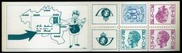 Belgie - Postzegelboekje 1975 - B 12 - Markenheftchen 1953-....