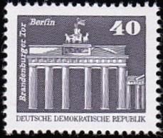 GERMAN DEMOCRATIC REPUBLIC - Scott #2078 Brandenburg Gate / Mint NH Stamp - Nuovi
