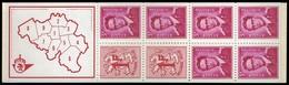 Belgie - Postzegelboekje 1969 - B 2 - Markenheftchen 1953-....