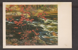 Red Maple By A Y Jackson - Group Of 7- Unused - Paper Adhesion On Back - Paintings