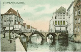 MALINES - Ancien Pont Gothique - SBP éditeur # 10 - Malines