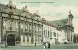 MALINES - Collège St-Rombout Et L'Église Des Jésuites - SBP éditeur # 13 - Malines