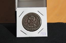 IVO 50 CENTAVOS ANGOLA 1927 PORTUGAL COIN - Angola
