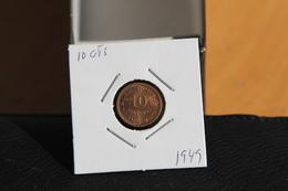 IVO 10 CTS 1949 ANGOLA/PORTUGAL COIN - Angola
