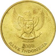 Monnaie, Indonésie, 500 Rupiah, 2000, TTB+, Aluminum-Bronze, KM:59 - Indonesia