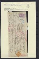 N°67 GESTEMPELD Bruxelles (Effets De Commerce) OP MANDAAT(details Zie Scan) COB € +600,00 SUPERBE - 1893-1900 Barba Corta