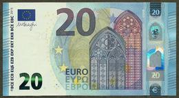 Portugal - 20 Euro - M003 A1 - Draghi - UNC - EURO