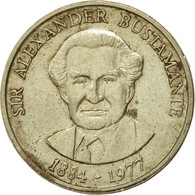 Monnaie, Jamaica, Elizabeth II, Dollar, 1991, Franklin Mint, TTB+, Nickel-brass - Jamaique