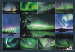 Aurora Borealis - Finland The Land Of The Northern Lights - Halt Gegen Das Licht/Durchscheink.