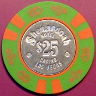 $25 Casino Chip. Shenandoah, Las Vegas, NV. E67. - Casino