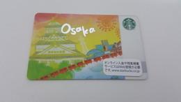 JAPAN -  STARBUCKS CARD - 6105 - OSAKA - Gift Cards