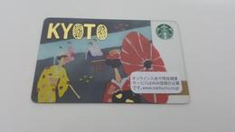 JAPAN -  STARBUCKS CARD - 6131 - KYOTO - Gift Cards