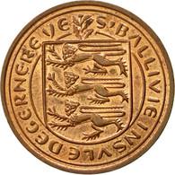 Monnaie, Guernsey, Elizabeth II, 2 Pence, 1979, Heaton, TTB, Bronze, KM:28 - Guernesey