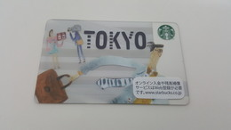 JAPAN -  STARBUCKS CARD - 6131 - TOKYO - Gift Cards
