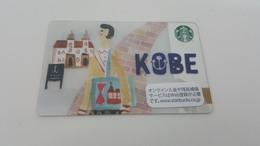 JAPAN -  STARBUCKS CARD - 6131 - KOBE - Gift Cards
