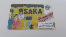 JAPAN -  STARBUCKS CARD - 6131 - OSAKA - Gift Cards