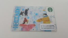 JAPAN -  STARBUCKS CARD - 6131 - HOKKAIDO - Gift Cards