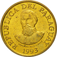Monnaie, Paraguay, 100 Guaranies, 1993, SUP, Brass Plated Steel, KM:177a - Paraguay