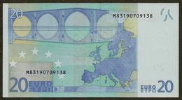 Portugal - M - 20 Euro - U017 D3 - M83190709138 - Trichet - RADAR - EURO