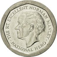 Monnaie, Jamaica, Elizabeth II, 5 Dollars, 1996, British Royal Mint, TTB, Nickel - Jamaique