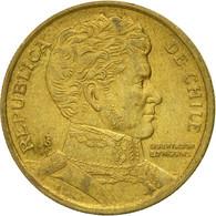Monnaie, Chile, 10 Pesos, 1993, Santiago, TTB, Aluminum-Bronze, KM:228.2 - Chile