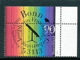 GERMANY Mi.Nr. 2907 225. Geburtstag Von Joseph Von Fraunhofer - ESST Bonn- Eckrand Oben Rechts - Used - BRD