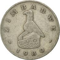 Monnaie, Zimbabwe, 50 Cents, 1980, TTB, Copper-nickel, KM:5 - Zimbabwe
