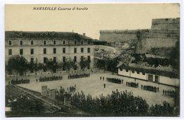 CPA - Carte Postale - France - Marseille - Caserne D'Aurelle ( CP4602 ) - Marseilles