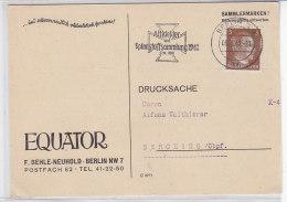 Drucksache Aus BERLIN 9.6.42 Stempel: Altkleider Und Spinnstoffsammlung 1942 .. Nach BERCHING - Germania