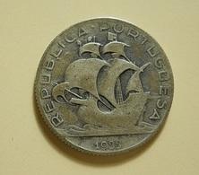 Portugal 2 1/2 Escudos 1933 Silver - Portugal