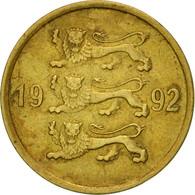 Monnaie, Estonia, 10 Senti, 1992, No Mint, TTB, Aluminum-Bronze, KM:22 - Estonie