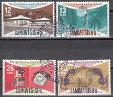SAMOA   SCOTT NO. 454-57     USED      YEAR 1977 - Samoa