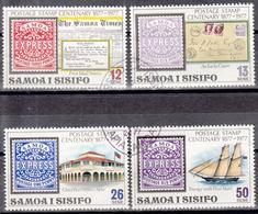 SAMOA   SCOTT NO. 458-61     USED      YEAR 1977 - Samoa