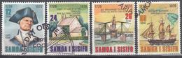 SAMOA   SCOTT NO. 474-77    USED      YEAR 1978 - Samoa