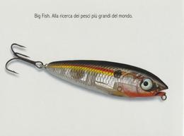 86/90-Tema:Animali-Pesci-Sport Pesca-N° 5 Promocard 7780/4 - Pesci E Crostacei