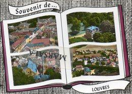 CPSM Louvres Multivues - Louvres