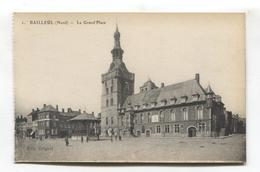 Bailleul (59) - La Grand'Place Et Kiosque à Musique - Francia