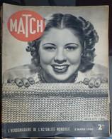 Match N° 35 2 Mars 1939 - Journaux - Quotidiens