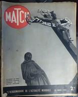 Match N° 38 23 Mars 1939. Prague Et Le Pont Charles - Journaux - Quotidiens