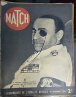 Match N° 65 28 Septembre 1939. Assassinat De Calinesco - Journaux - Quotidiens